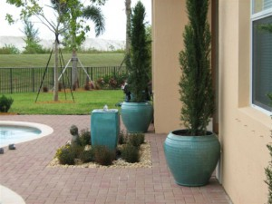 Customer Landscape Design Flowerpot